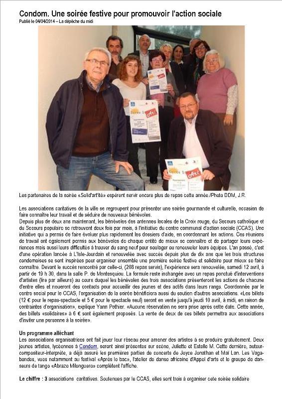 SI-Article de Presse Sud Ouest 04 04 2014