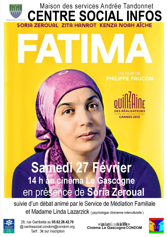 Affiche A3 film fatima