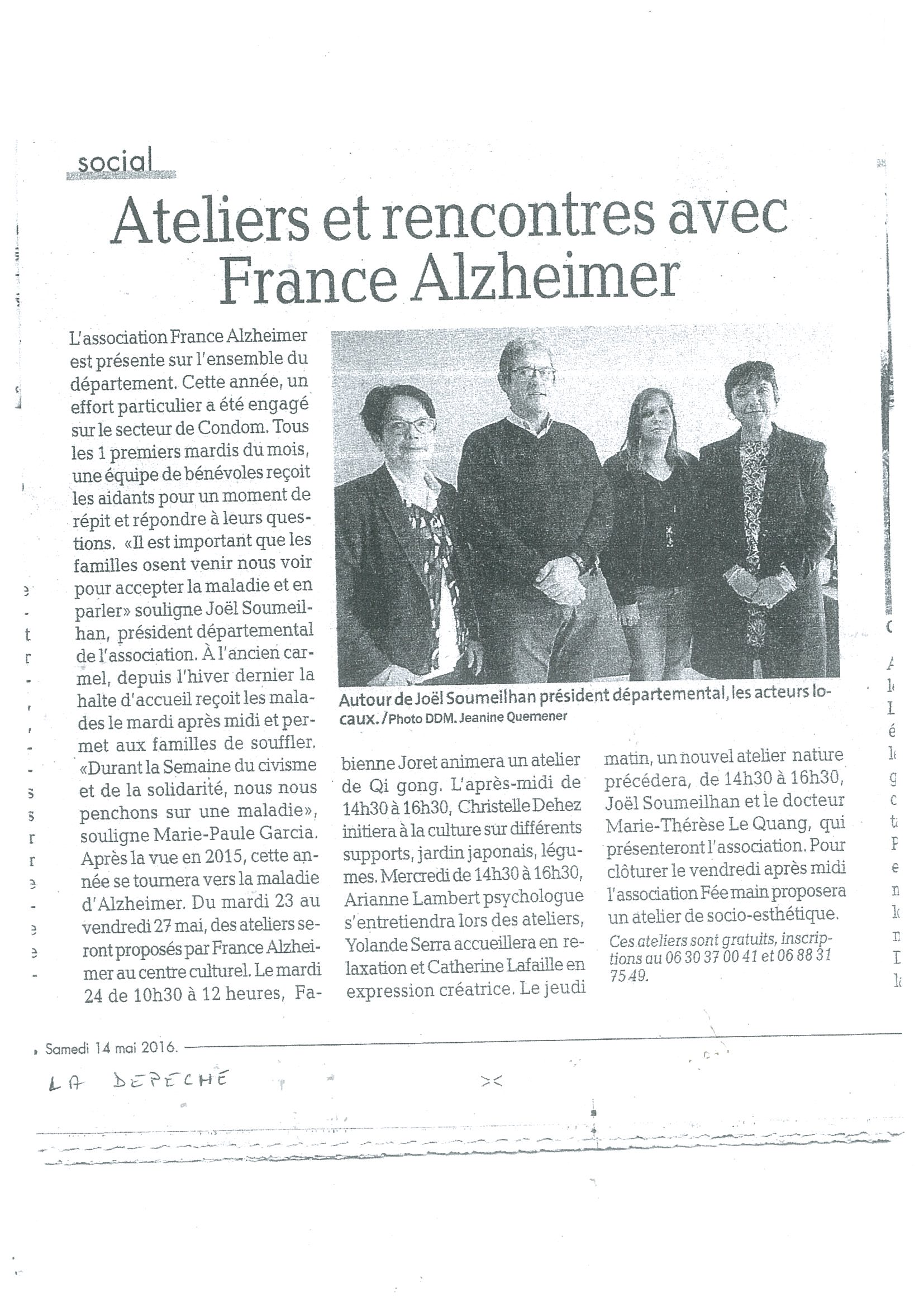 7emes rencontres france alzheimer